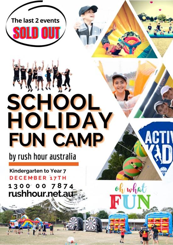 School Holiday Fun Camp